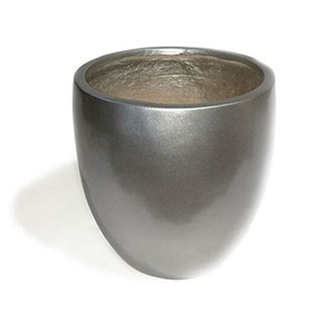 Large Silver Planter by Planters And Plant Pots Uk Large Medium Plant Pots
