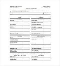 Balance Sheet Template Free by Balance Sheet Template 16 Free Word Excel Pdf