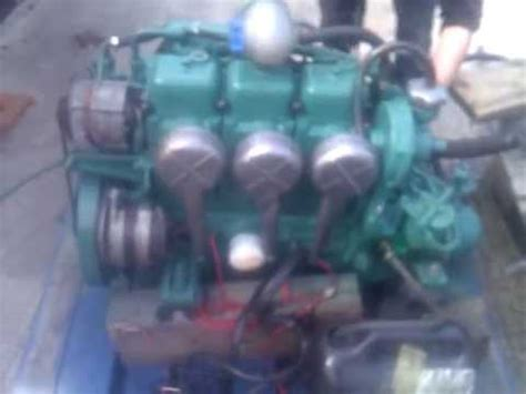 volvo penta mdc hp marine diesel engine youtube