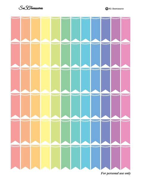 free printable planner flags 1000 images about printables e stickers bandeira on