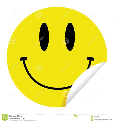 Sticker Smiley Traurig by Smiley Sticker Stock Vector Illustration Of Pleasant