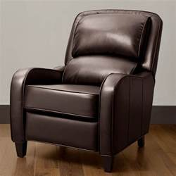 bedroom faux leather upholstered armchair which
