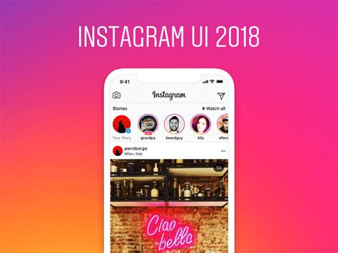 layout instagram mac instagram 2018 ui kit for sketch freebie download sketch