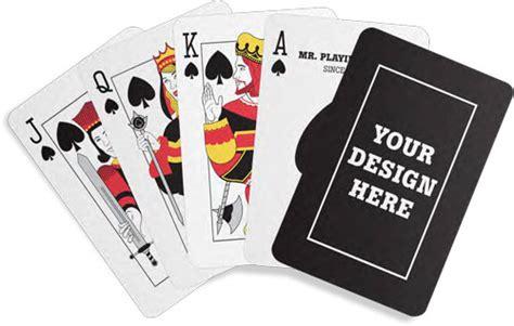 custom card deck template request a custom card design quote mr card