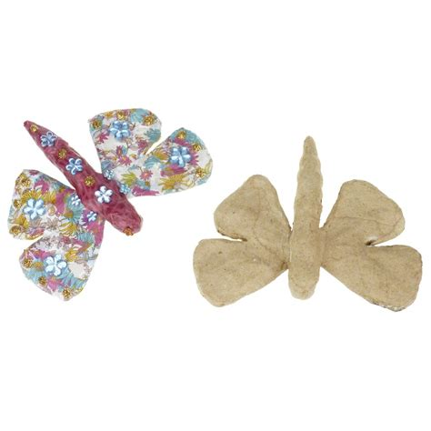 How To Make Paper Mache Butterfly - paper mache small butterfly ap144 decopatch and