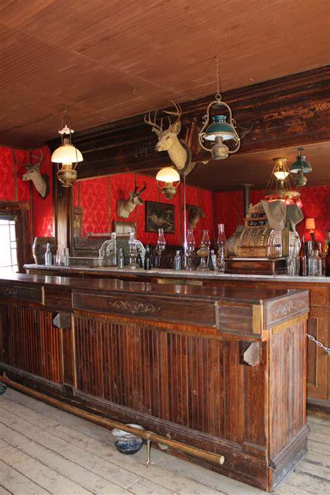 Antique Bar Decor cody old trail town saloon bar busybeetraveler
