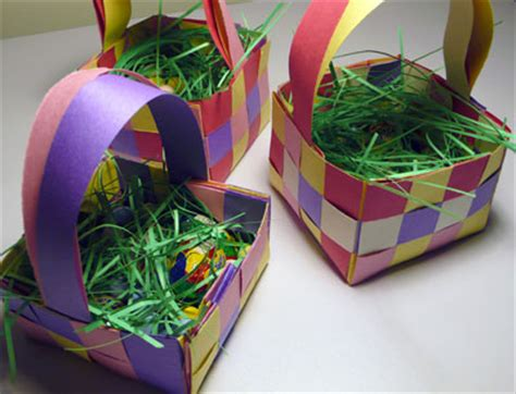Make An Easter Basket From Paper - easter basket to make gift and baskets ideas