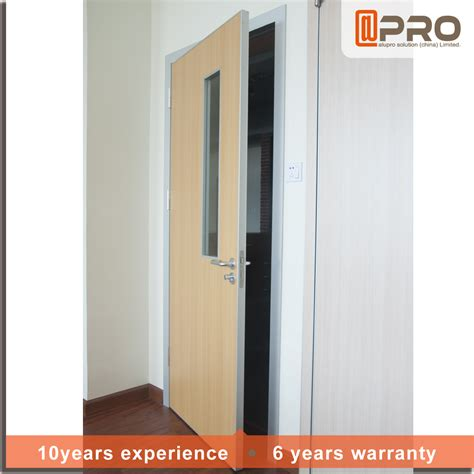 interior mdf doors 2016 aluminium frame mdf door interior door for hospital