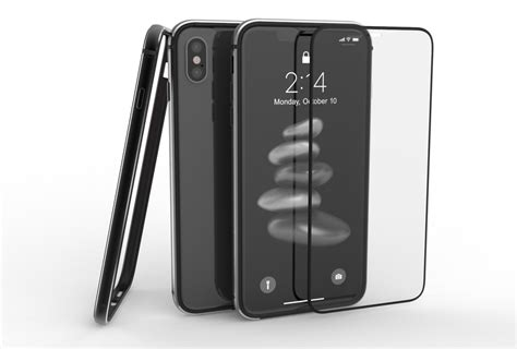 metal bumper and glass for iphone xs max utomic