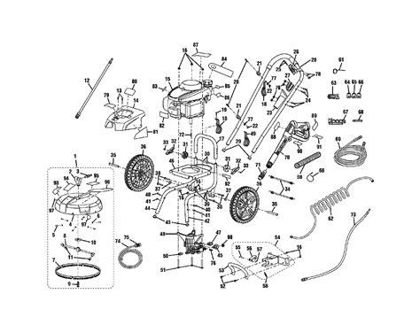 buy ryobi rpwwb replacement tool parts ryobi rpwwb pressure washer parts diagram