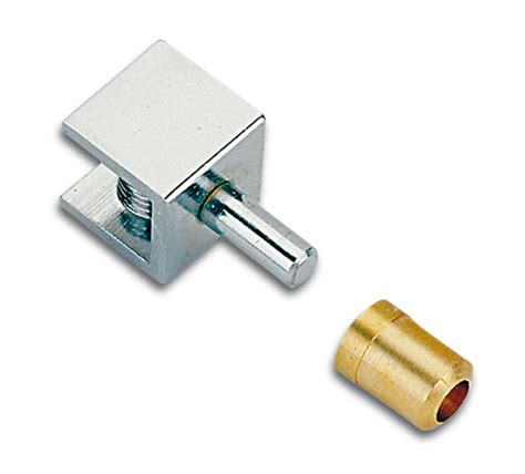 Shower Door Hinge Pin Pivot Hinge For Inset Doors Non Drill 15 X 15mm The Wholesale Glass Company