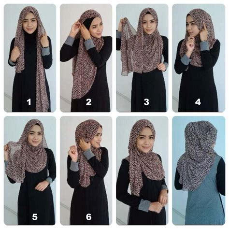 different pattern of hijab hijab tutorial for proper chest coverage hijabiworld