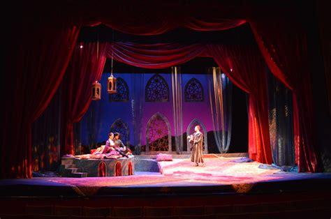 Home Theatre Decoration Ideas The Arabian Nights Leazah Behrens Theatrical Design