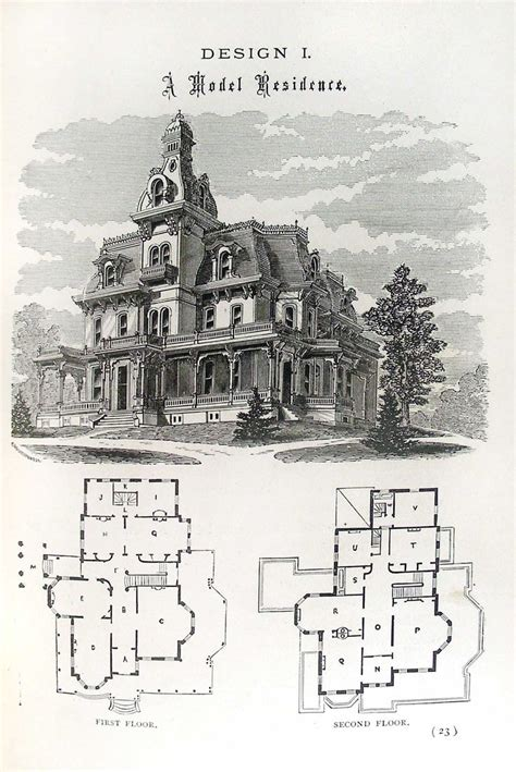 Victorian Home Plans Victorian Mansion Floor Plans Victorian Homes House Plans