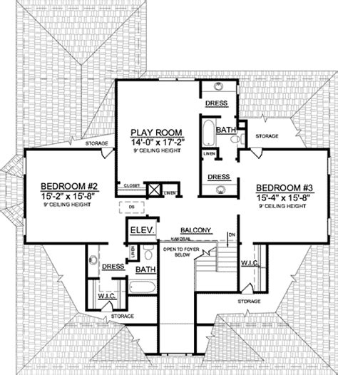 escalator floor plan an elevator and two stair options 9147gu architectural