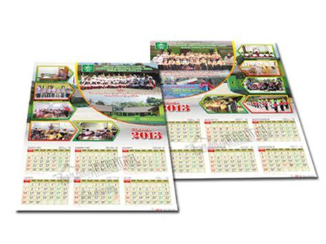 desain kalender 1 halaman desain kalender 2 lembar 6 bulan gubug gallery