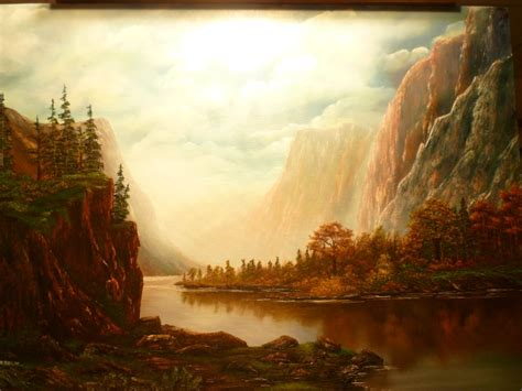 bob ross painting instructor course don belik bob ross 174 painting classes walls