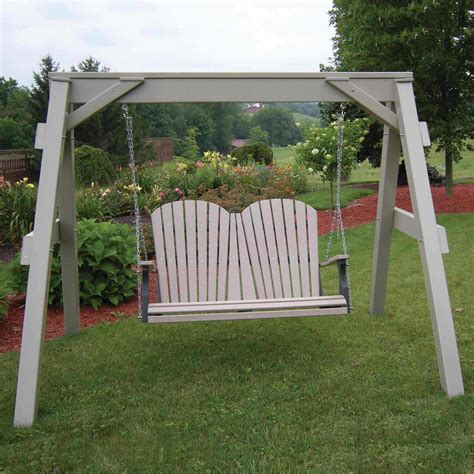swing support frame berlin gardens a frame support for porch swings dfohome