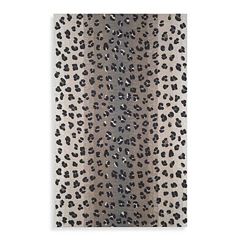 Leopard Kitchen Rug Leopard Snow Rug Bed Bath Beyond