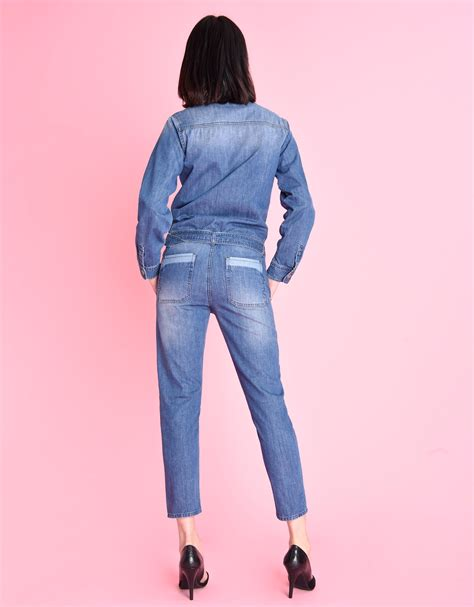 Leo Denim denim jumpsuit for leo reiko