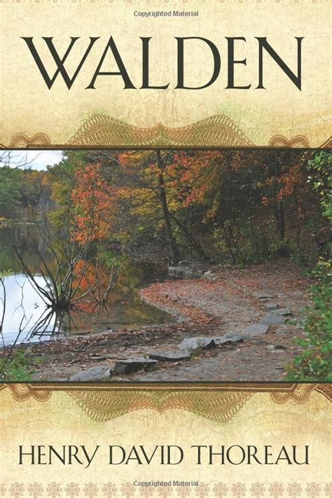 walden book cover poster walden by henry david thoreau books i like