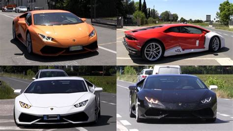 Lamborghini Huracan Spotting in Italy: Pick Your Color