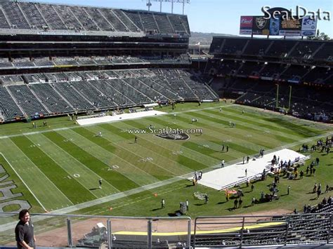 alameda county section 8 upper sideline oakland coliseum football seating