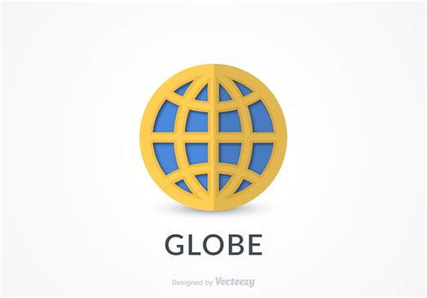 logo free free flat globe logo icon vector free vector stock graphics images