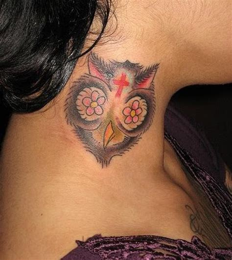 tattoo neck face 83 cute neck tattoos for women