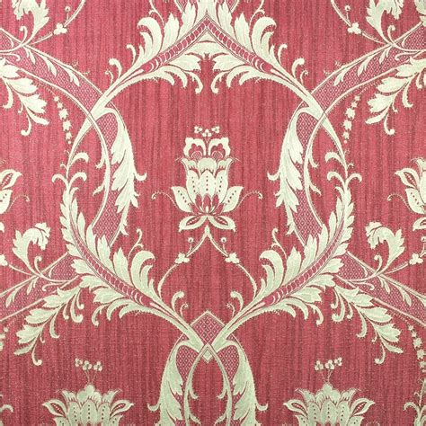 wallpaper large red damask on metallic gold background ebay milano damask glitter wallpaper red gold m95564
