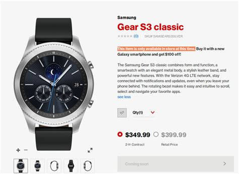 Promo Samsung Galaxy Gear S3 Frontier Original Promo Price Tid019 samsung gear s3 classic lte now also available from