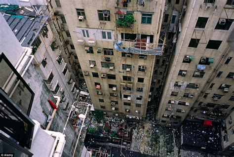 Appartments In The City by Hong Kong S Human Battery Hens Claustrophobic Images Show