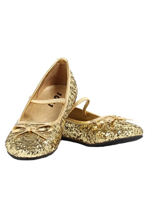 gold shoes flats gold glitter ballet flats