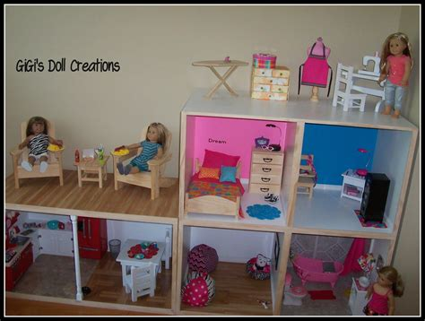 how to make an american girl doll house tutorial on making an american girl doll house with lots