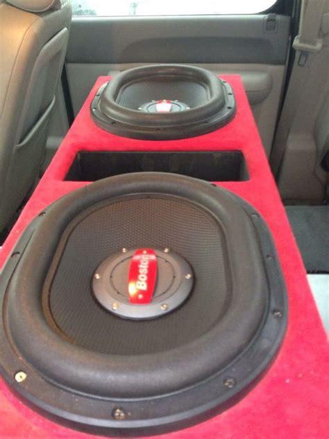 Speaker Oval Boston boston acoustics 13 5 quot oval subwoofers audio equipment