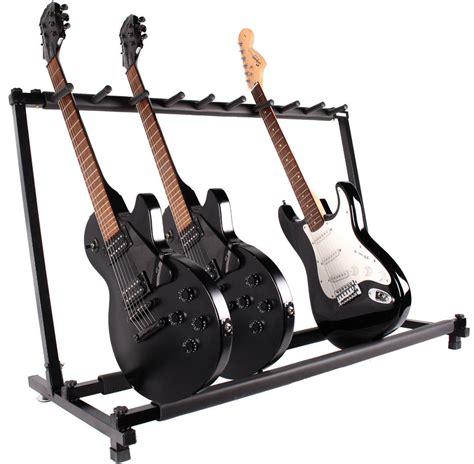 Guitar Storage Rack by 9 Guitar Folding Rack Storage Organizer Electric