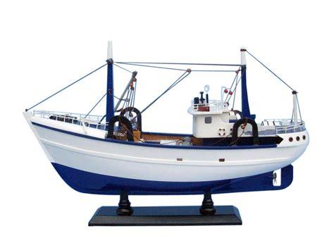 fishing boat model buy wooden calm seas model boat 19 inch boats model