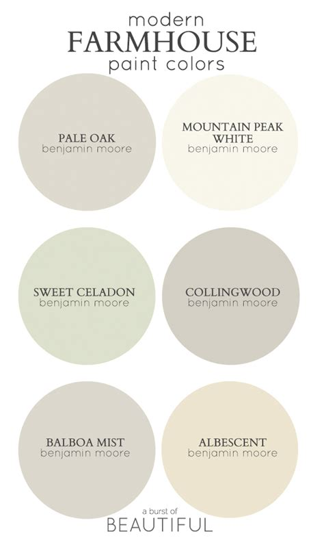 modern farmhouse neutral paint colors a burst of beautiful