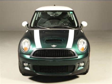 Pita Jepit Mini Green Stripes purchase used 2009 mini cooper s hardtop green w white stripes fast in houston united