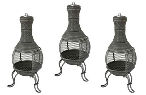 Argos Chiminea mini cast iron chiminea 163 27 99 argos playpennies