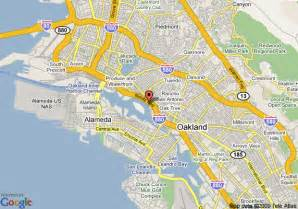 map of executive inn and suites oakland oakland