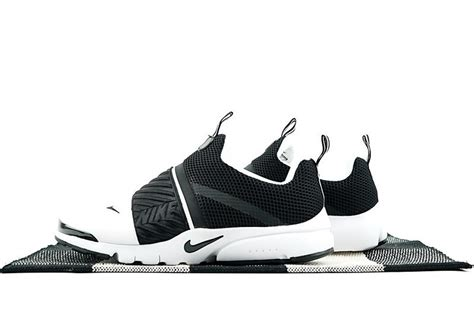 anti fatigue nike air presto slip on white black 829553 003 uk