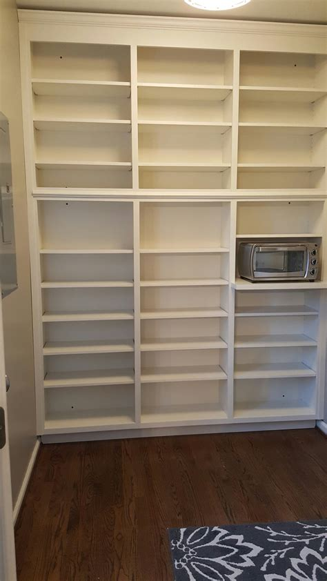 custom made pantry shelving brendan carpenter