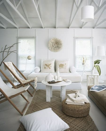 Beachy Room Decor Airy White Quot Living Quot Room House And Homeapplepins