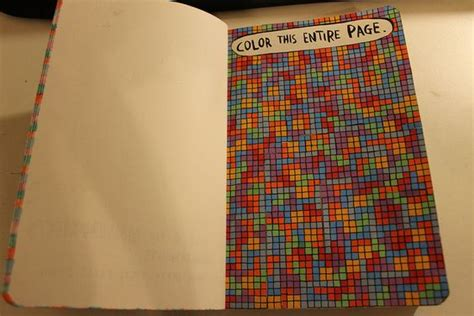 17 best images about wreck this journal color entire page