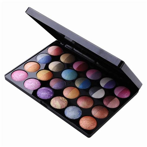 Mix Makeup Palette by Mix Colors Shimmer Baked Eye Shadow Professional Makeup