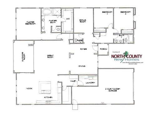 heritage collection at grove floor plans