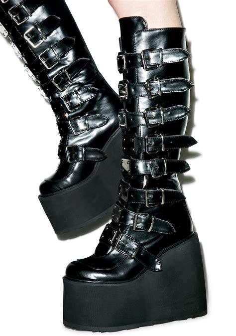 demonia boots demonia boots dolls kill