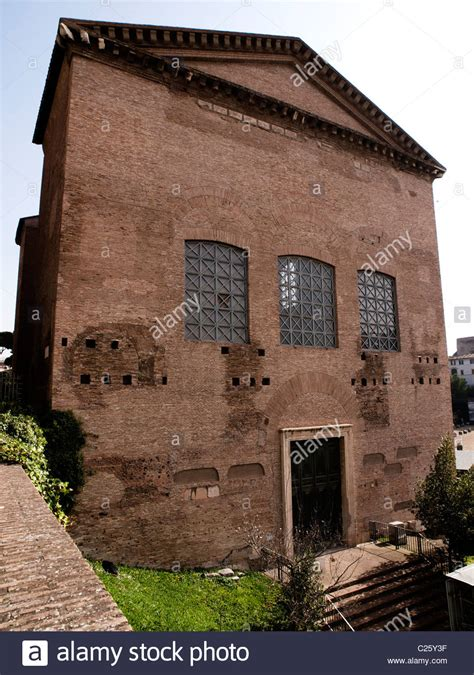 house buying forum ancient rome the curia senate house roman forum italy stock photo royalty free