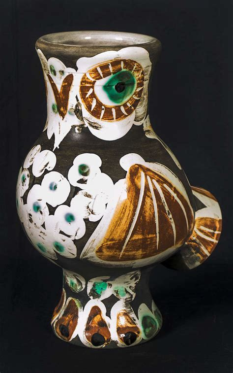 picasso paintings vase pablo picasso wood owl 1968 at 1stdibs